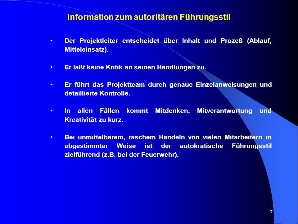 """18 Information zum """"Was-Nicht von Delegation in Projekten ."""