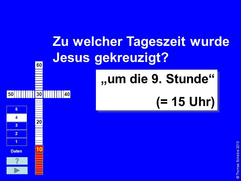 Wie viel Zeit verging zwischen Kreuzigung und Auferstehung Jesu.