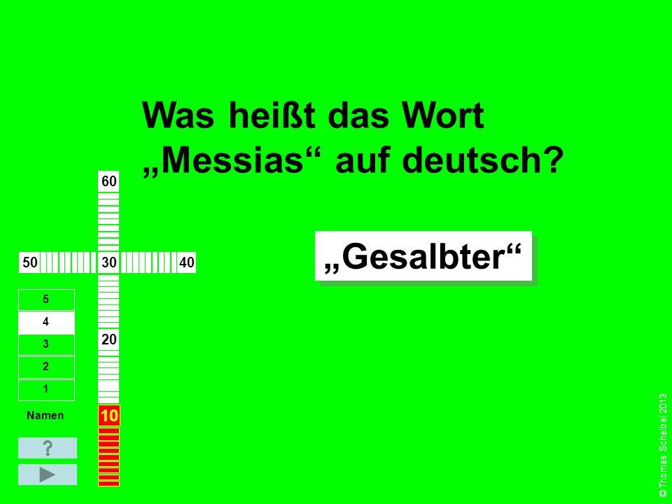 """Aus welcher Sprache kommt das Wort """"Messias ."""