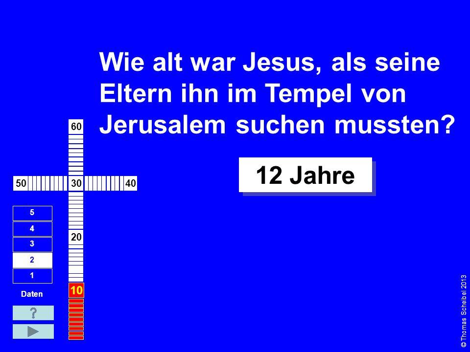 In welchem Jahr wurde Jesus geboren. Daten 1 2 3 4 5 wahrscheinlich um 6 v.Chr.