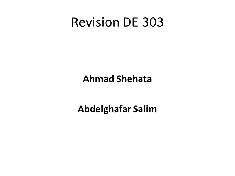 Revision DE 303 Ahmad Shehata Abdelghafar Salim