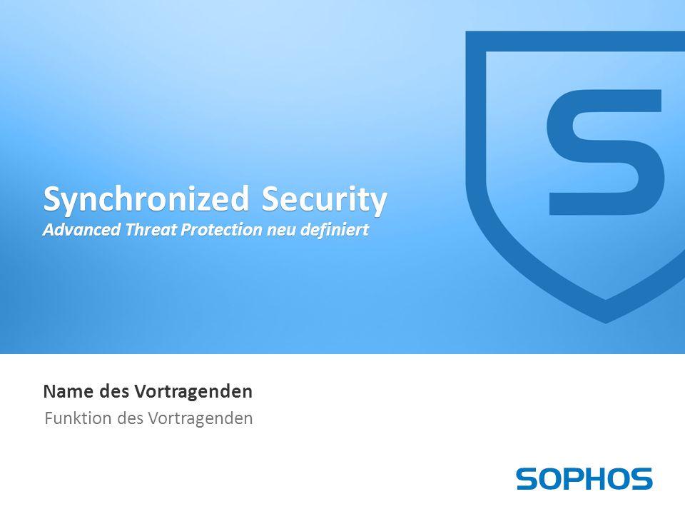 22 Synchronized Security 2016