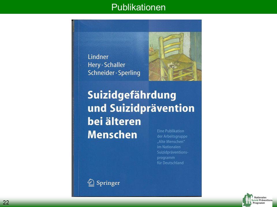 22 Publikationen