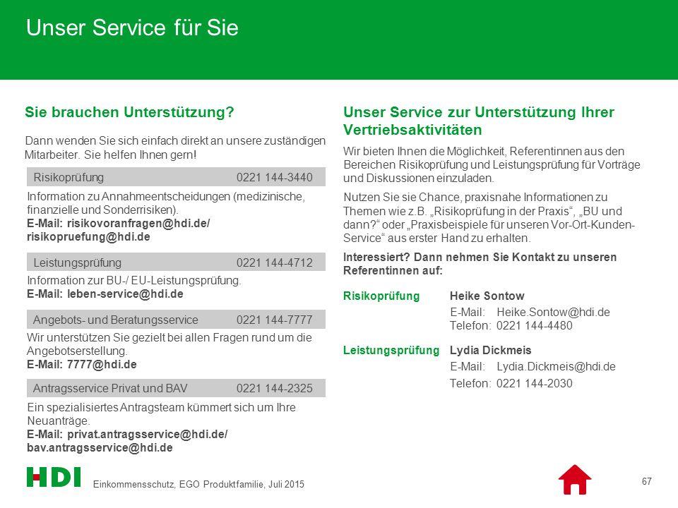 Unser Service für Sie Sie brauchen Unterstützung? Dann wenden Sie sich einfach direkt an unsere zuständigen Mitarbeiter. Sie helfen Ihnen gern! Unser