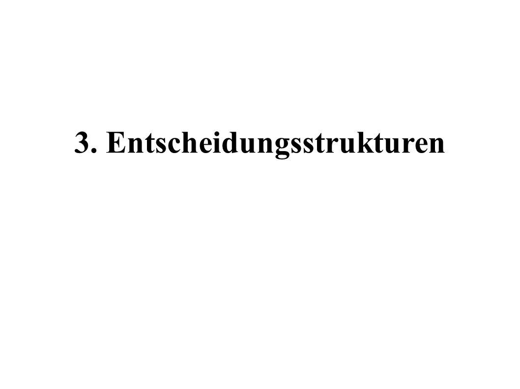 3. Entscheidungsstrukturen