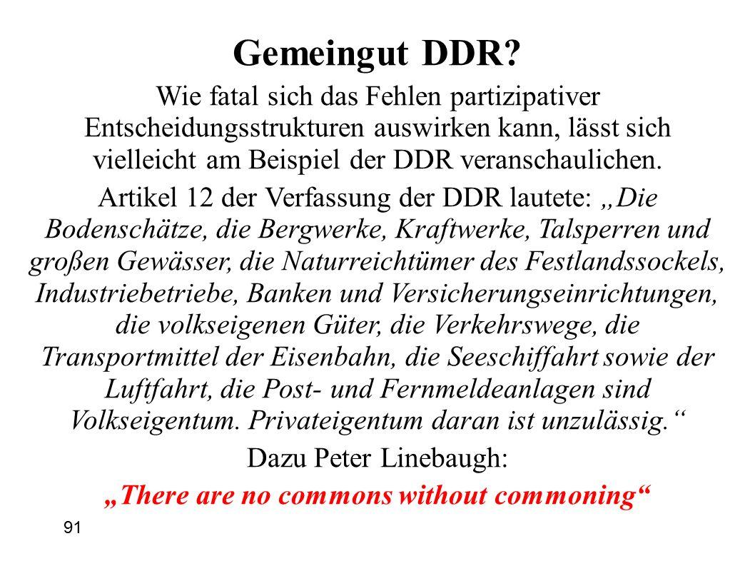 91 Gemeingut DDR.