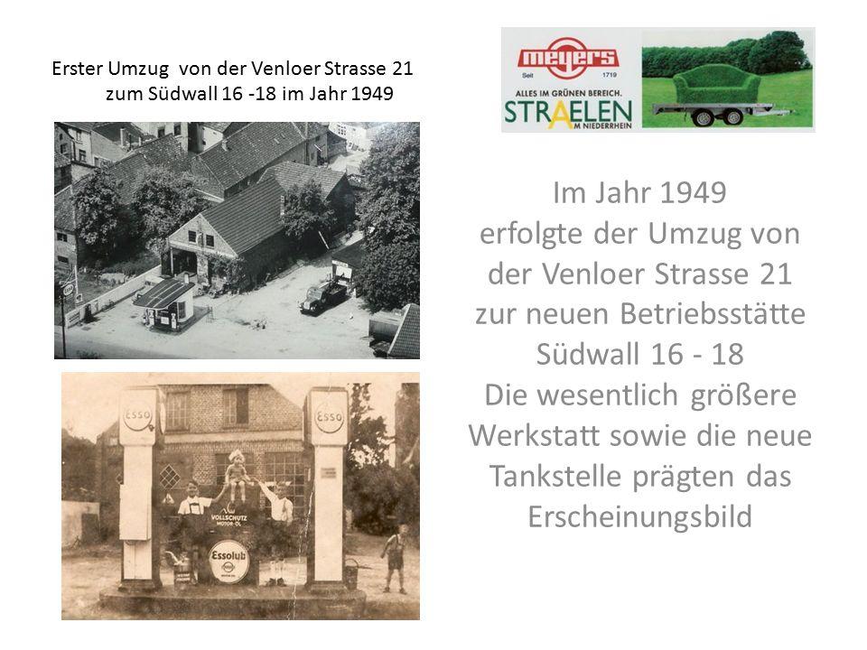 1980 erfolgte der zweite Umzug in die heutige 17.500 m² große Betriebsstätte Rathausstrasse 47