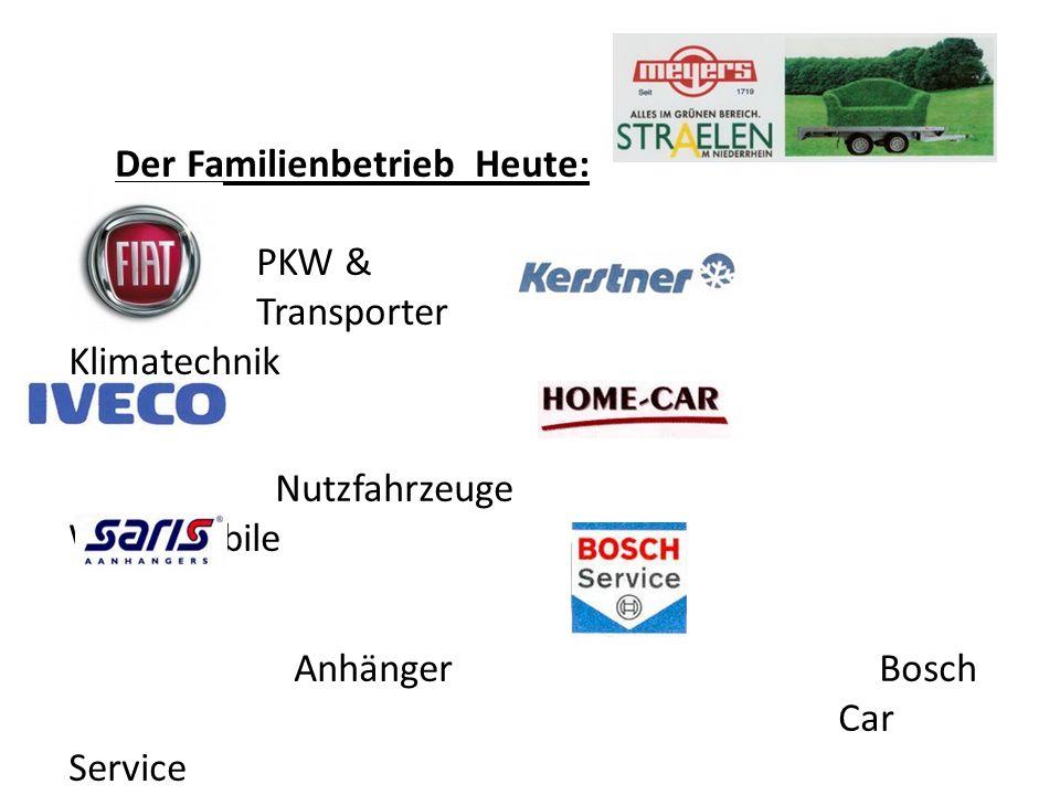 Der Familienbetrieb Heute: PKW & Transporter Klimatechnik Nutzfahrzeuge Wohnmobile Anhänger Bosch Car Service Eine Werkstatt alle Marken und vieles mehr …………