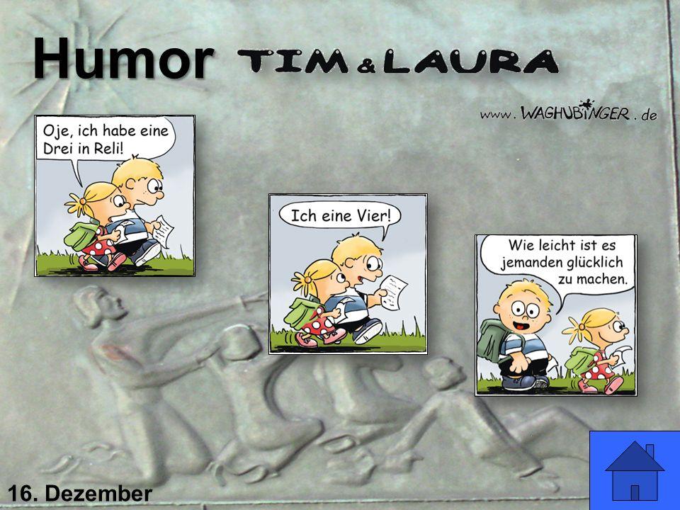 16. Dezember Humor