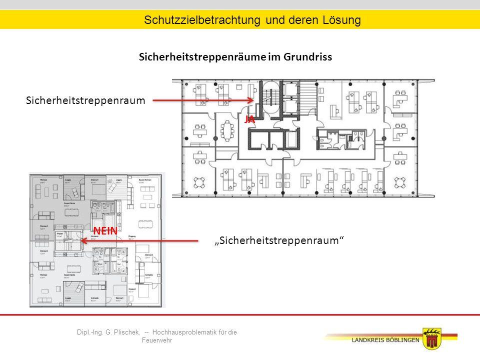 """Sicherheitstreppenräume im Grundriss """"Sicherheitstreppenraum Sicherheitstreppenraum Dipl.-Ing."""