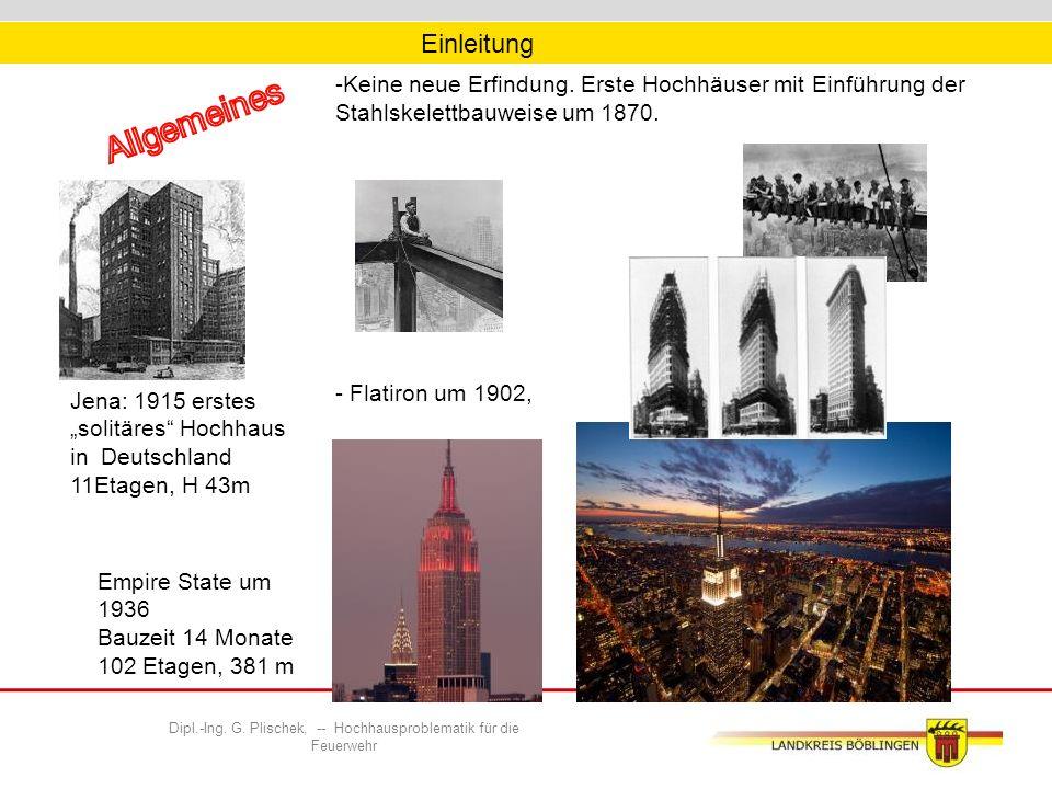 -Keine neue Erfindung.Erste Hochhäuser mit Einführung der Stahlskelettbauweise um 1870.