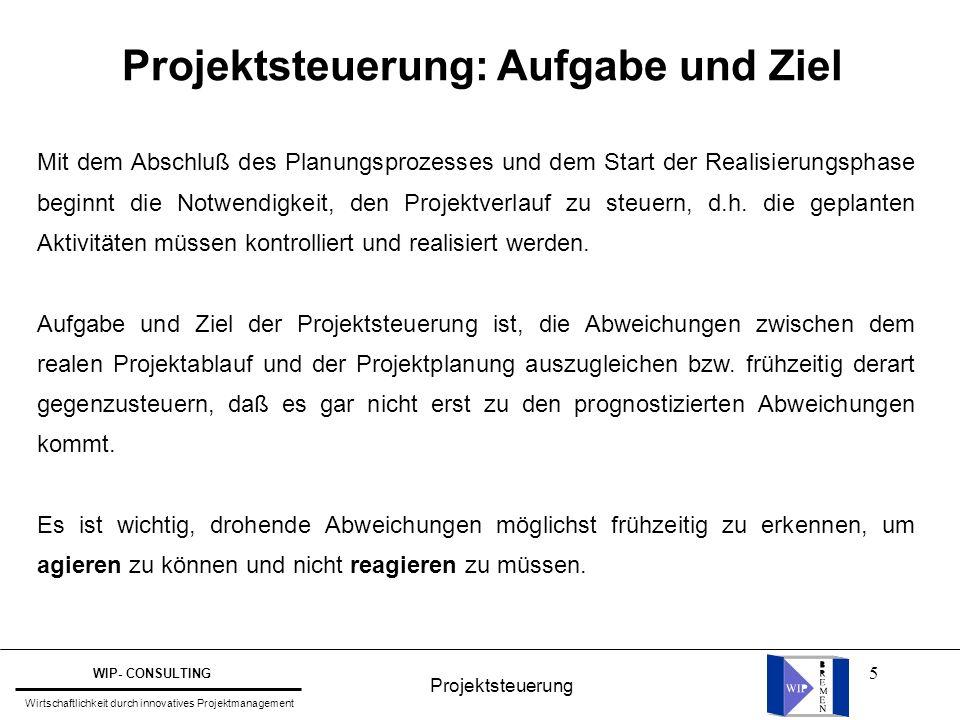 36 Darstellung des Terminfortschritts im Meilenstein-Trendchart Berichtszeitpunkte 1.1.