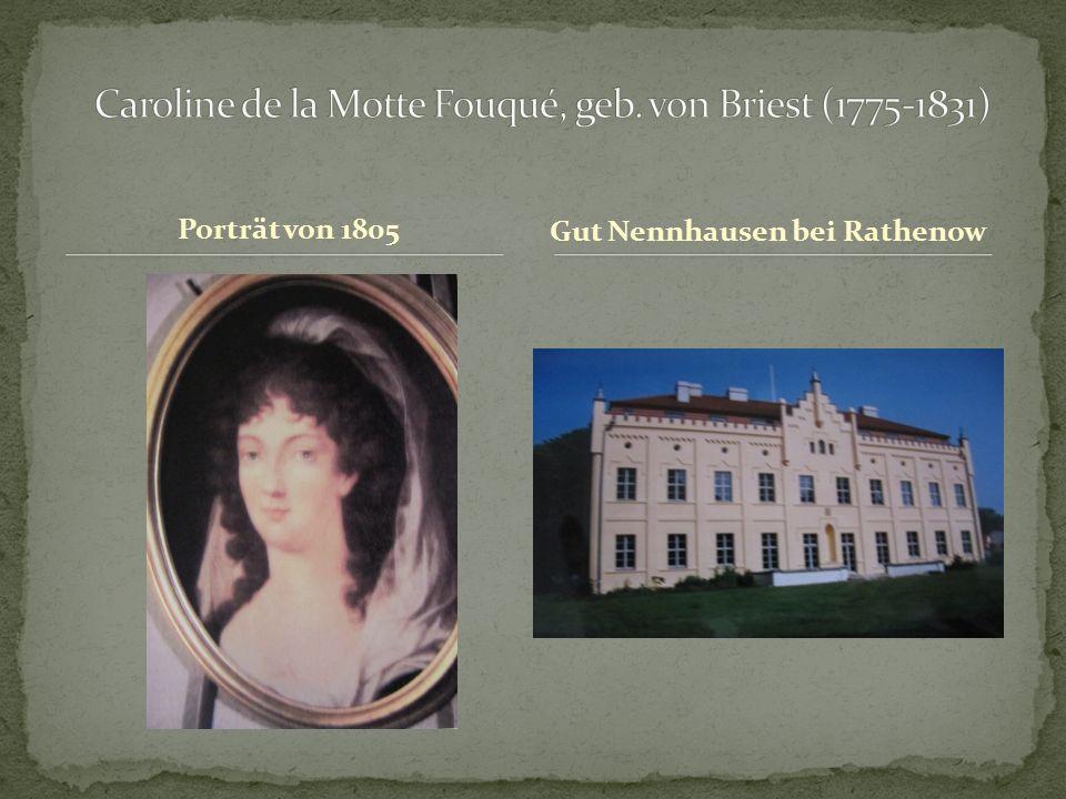 Porträt von 1805 Gut Nennhausen bei Rathenow