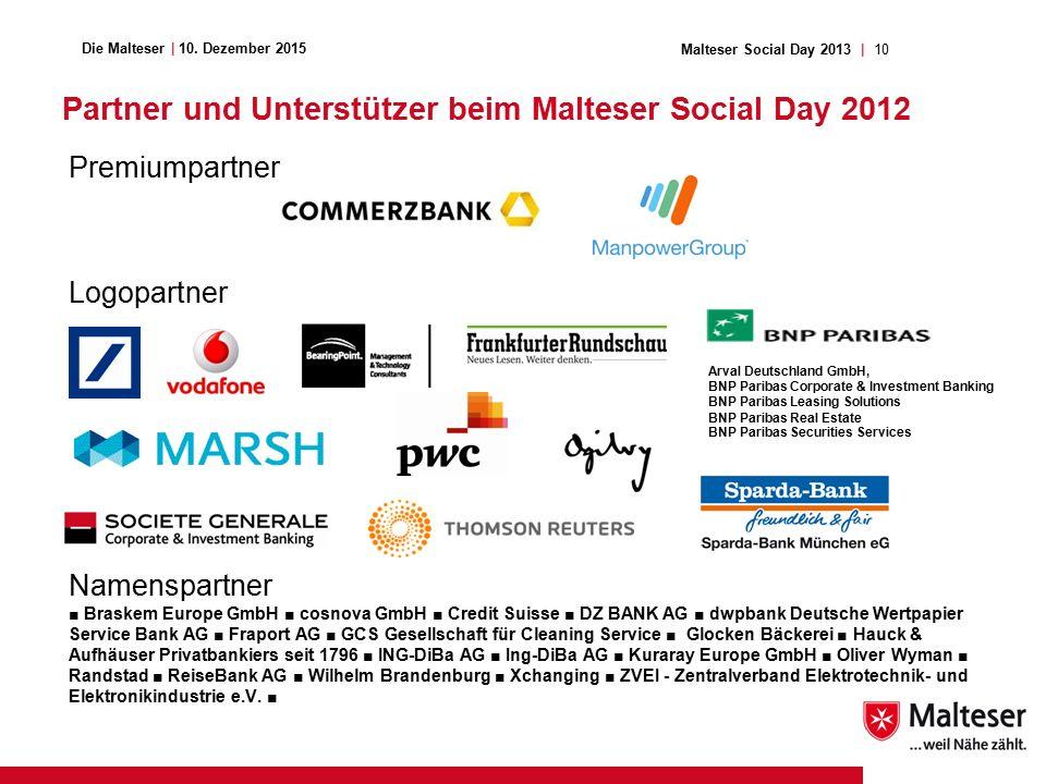 10Malteser Social Day 2013   Die Malteser   10.