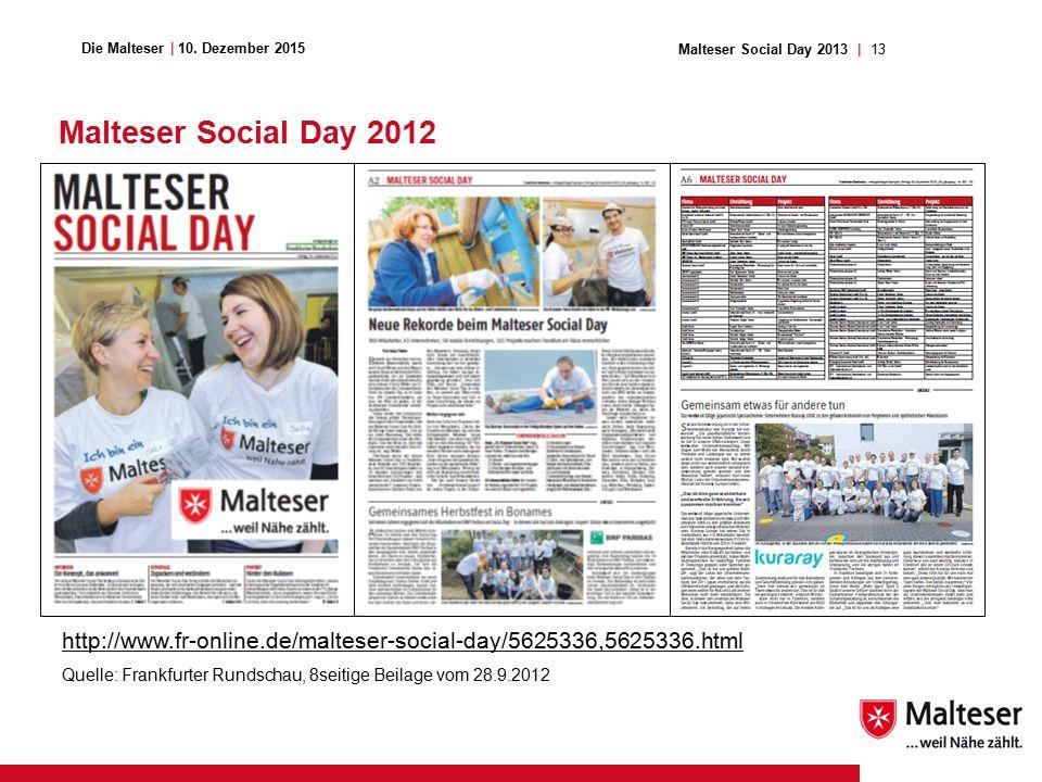 13Malteser Social Day 2013   Die Malteser   10.
