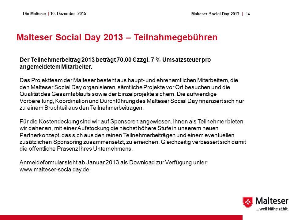 14Malteser Social Day 2013   Die Malteser   10.