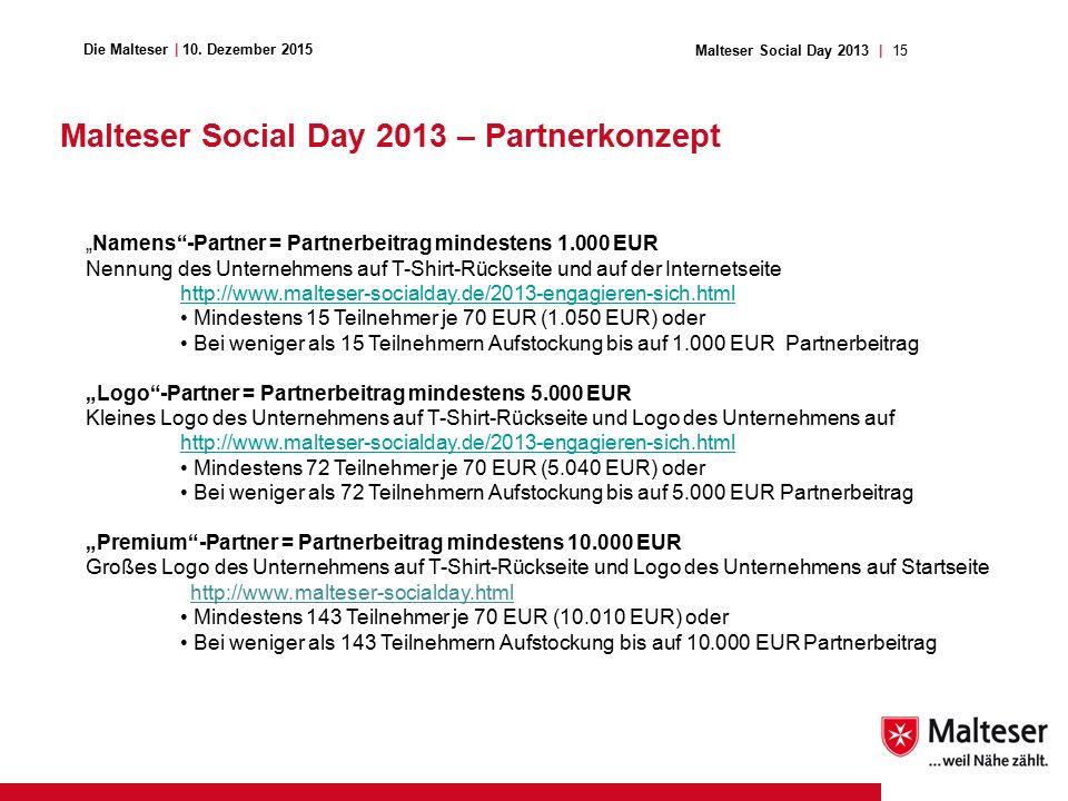 15Malteser Social Day 2013 | Die Malteser | 10.