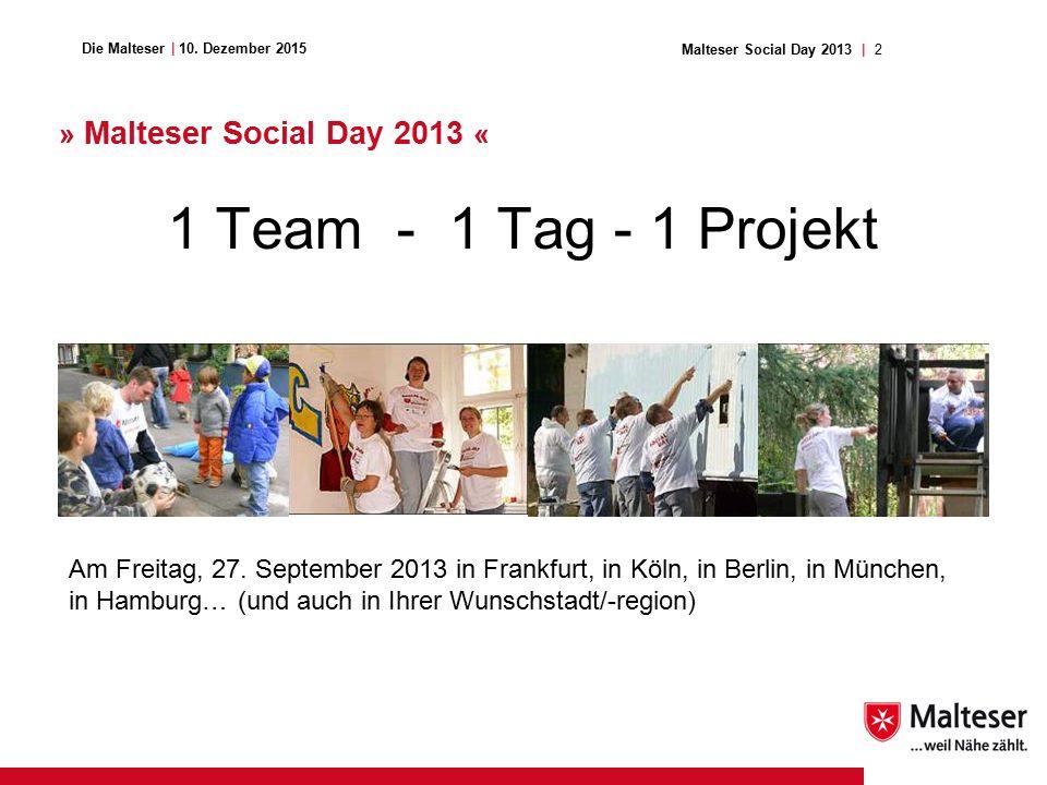 2Malteser Social Day 2013 | Die Malteser | 10.