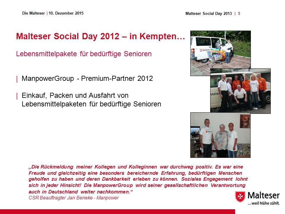 5Malteser Social Day 2013   Die Malteser   10.