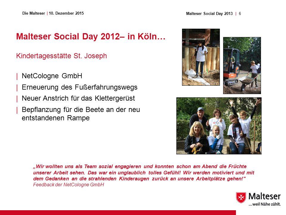 6Malteser Social Day 2013   Die Malteser   10.