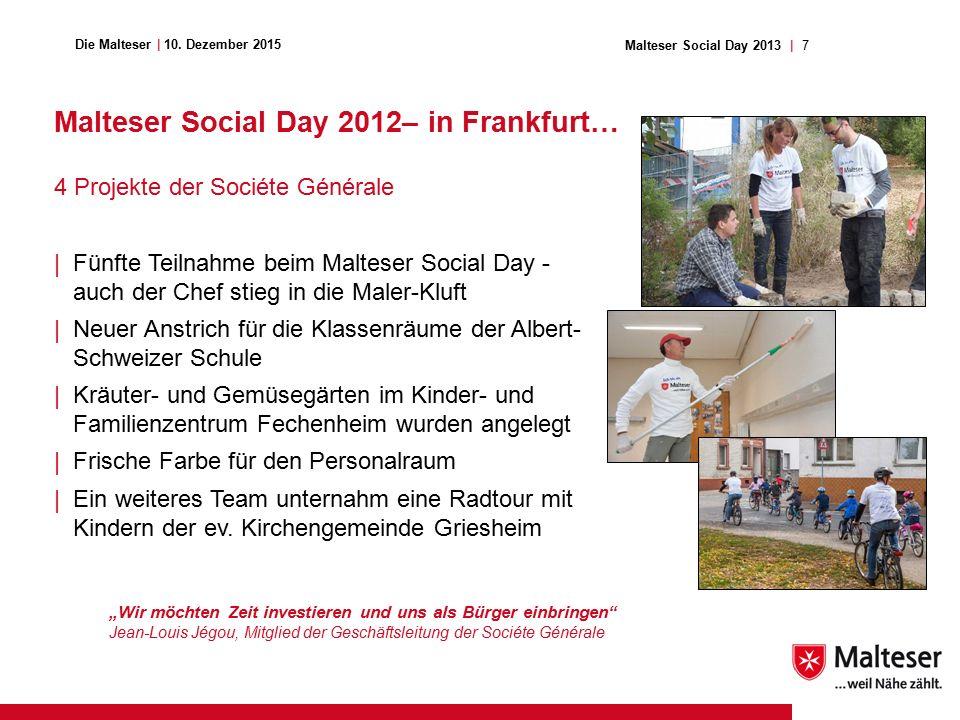 7Malteser Social Day 2013   Die Malteser   10.