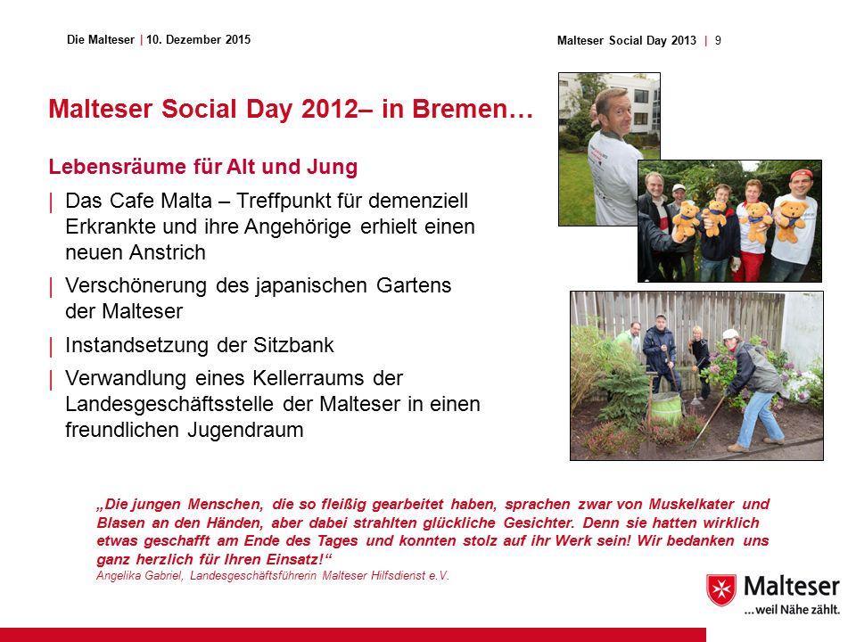 9Malteser Social Day 2013   Die Malteser   10.