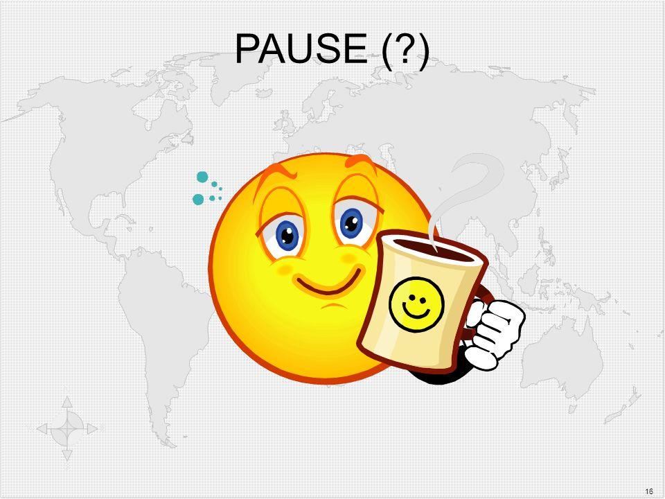 PAUSE ( ) 16