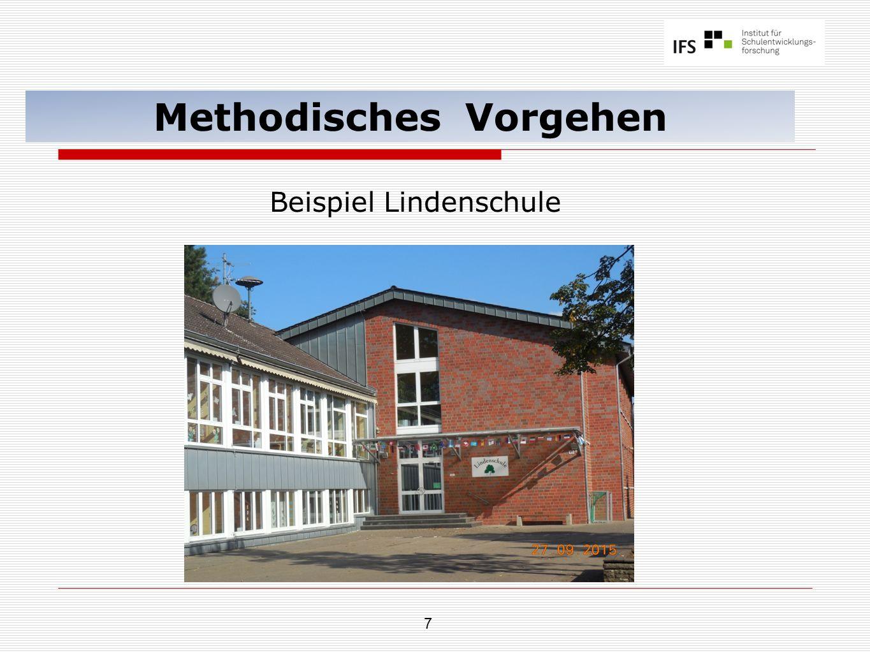 7 Methodisches Vorgehen Beispiel Lindenschule