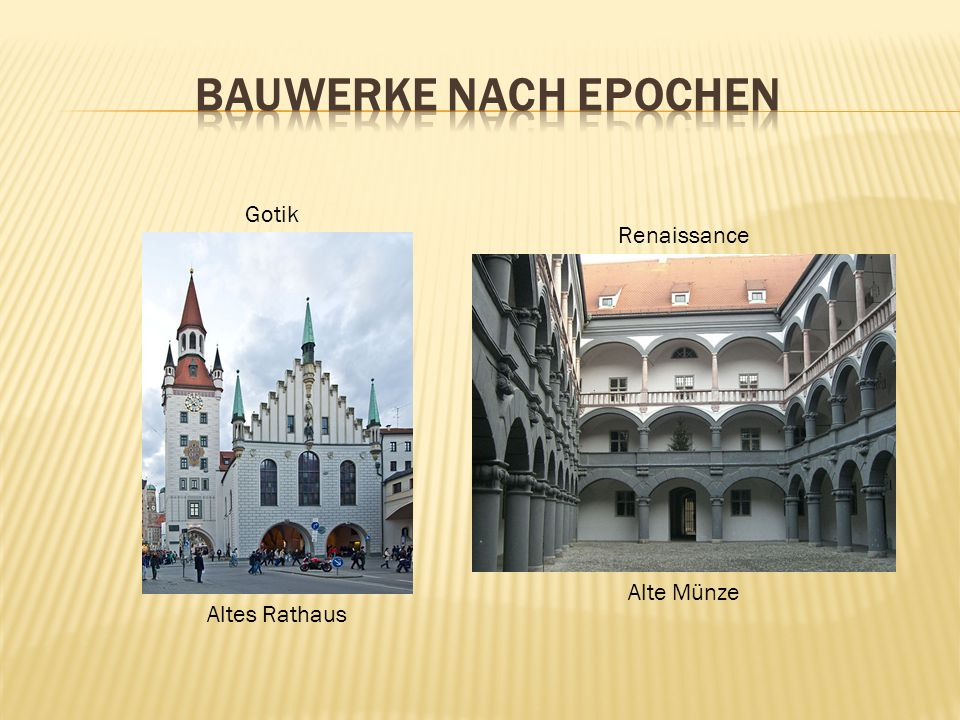 Barock Fassade des Palais Neuhaus-PreysingPrinz-Carl-Palais Klassizismus