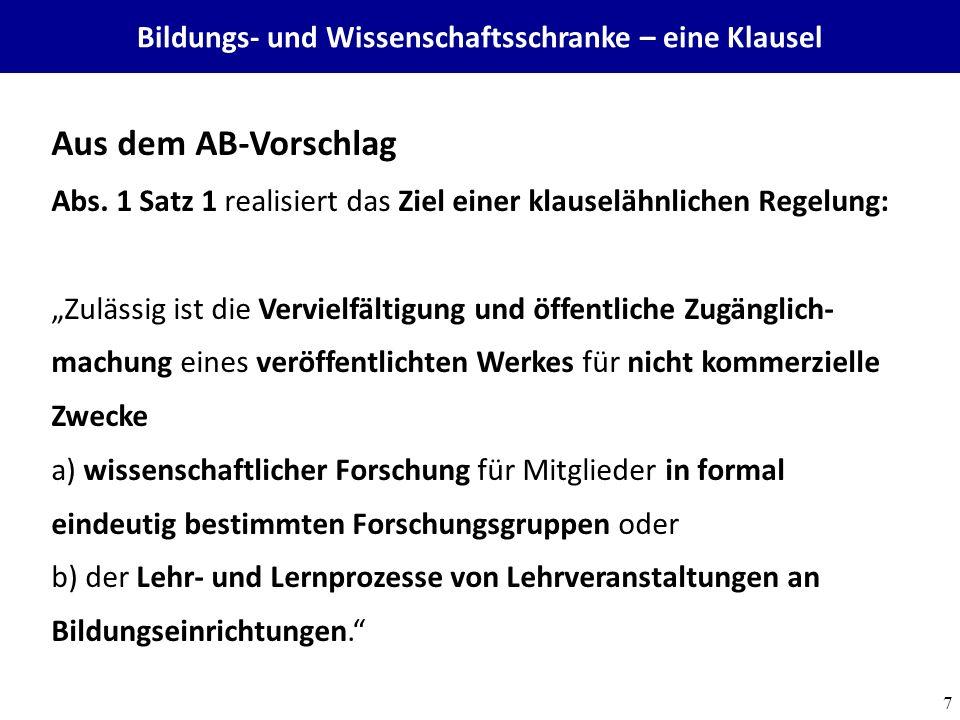 Towards a commons-based copyright– IFLA 08/2010 28 Wissensökologie und Wissensökonomie müssen kein Widerspruch sein - ODOK 2012 – FH Wels 12.9.2012 http://creativecommons.org/licenses/by-sa/3.0/