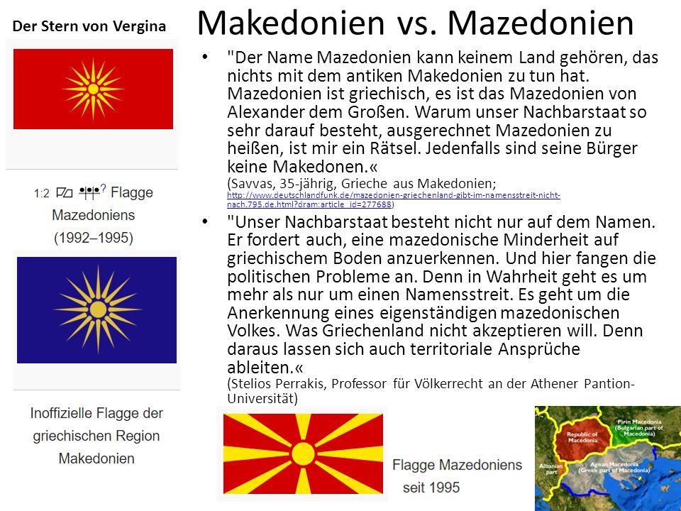 Makedonien vs.
