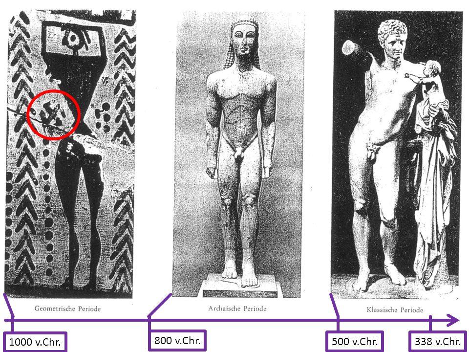1000 v.Chr. 800 v.Chr. 500 v.Chr.338 v.Chr.