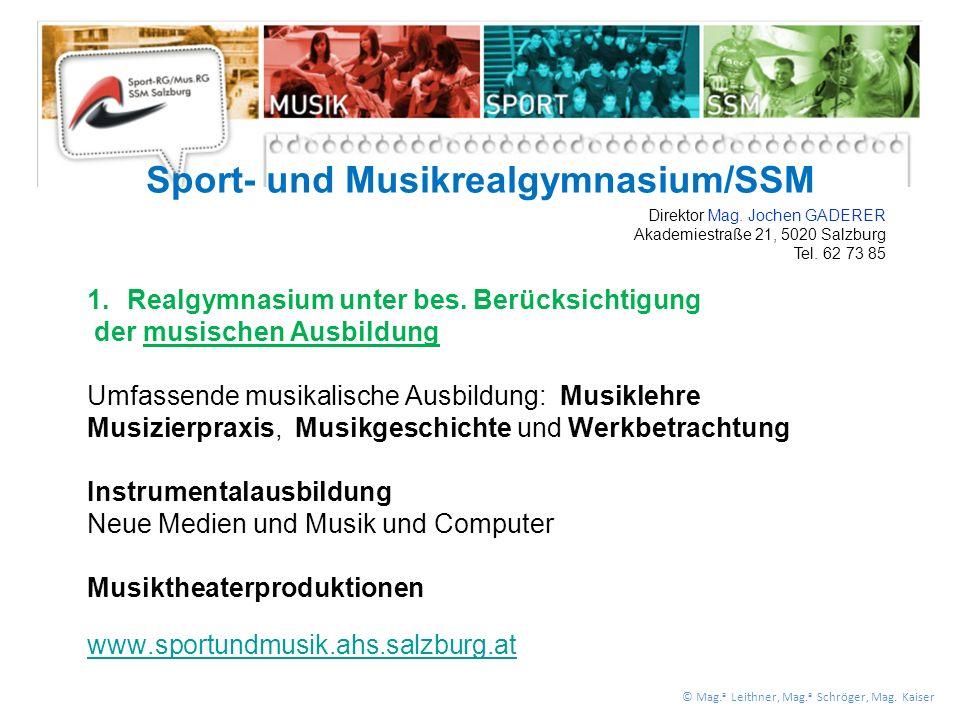 1.Realgymnasium unter bes.