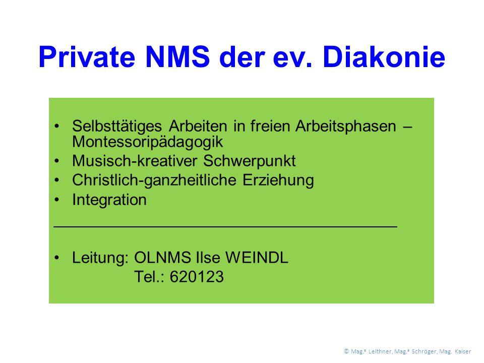 Private NMS der ev.