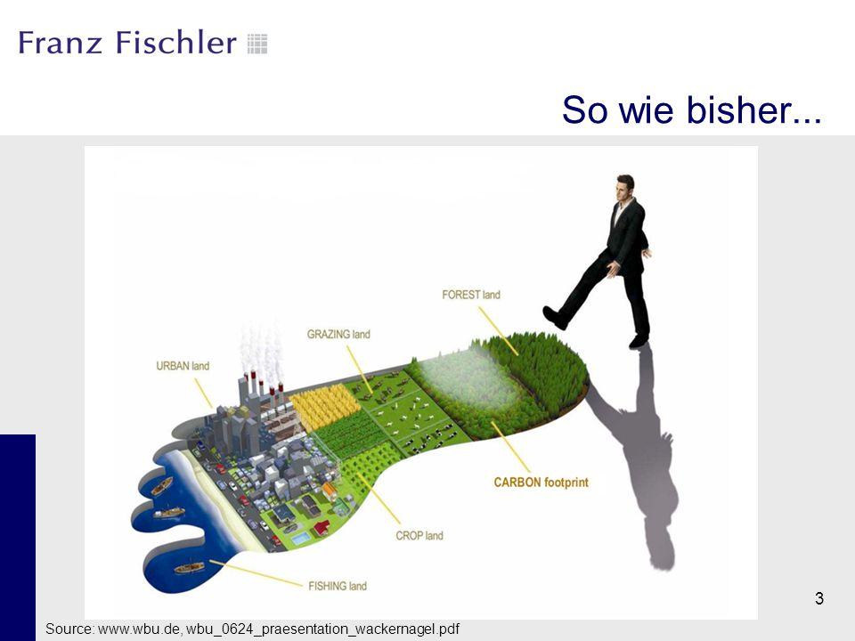 3 Source: www.wbu.de, wbu_0624_praesentation_wackernagel.pdf So wie bisher...