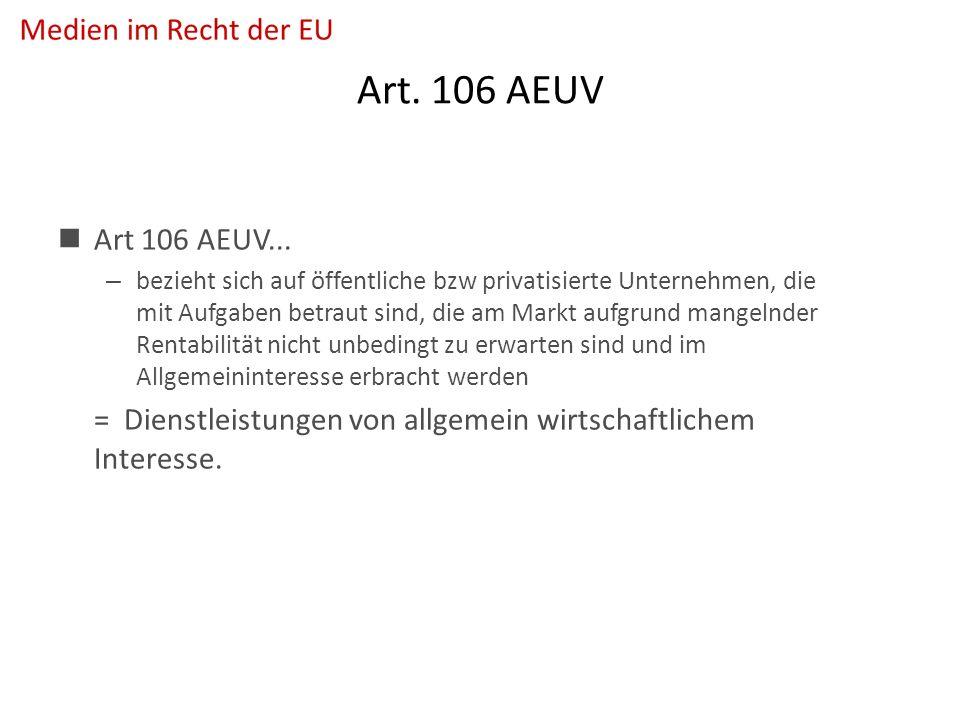 Art. 106 AEUV Art 106 AEUV...