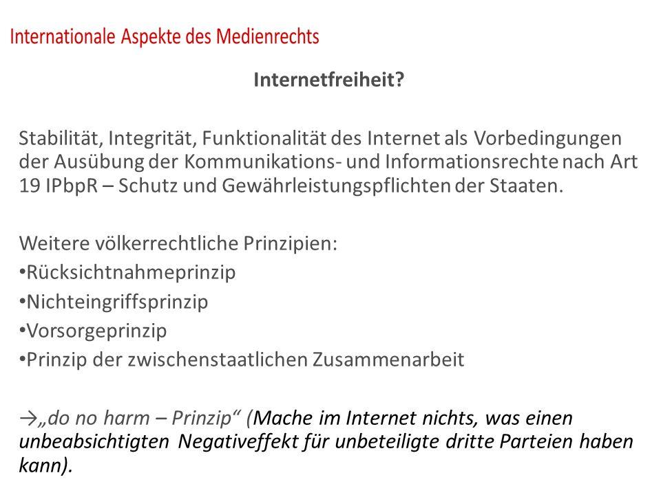 Internetfreiheit.