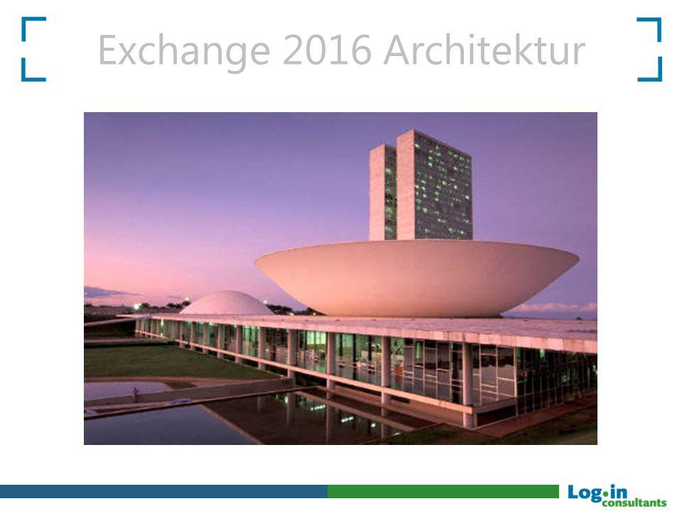 Exchange 2016 Architektur