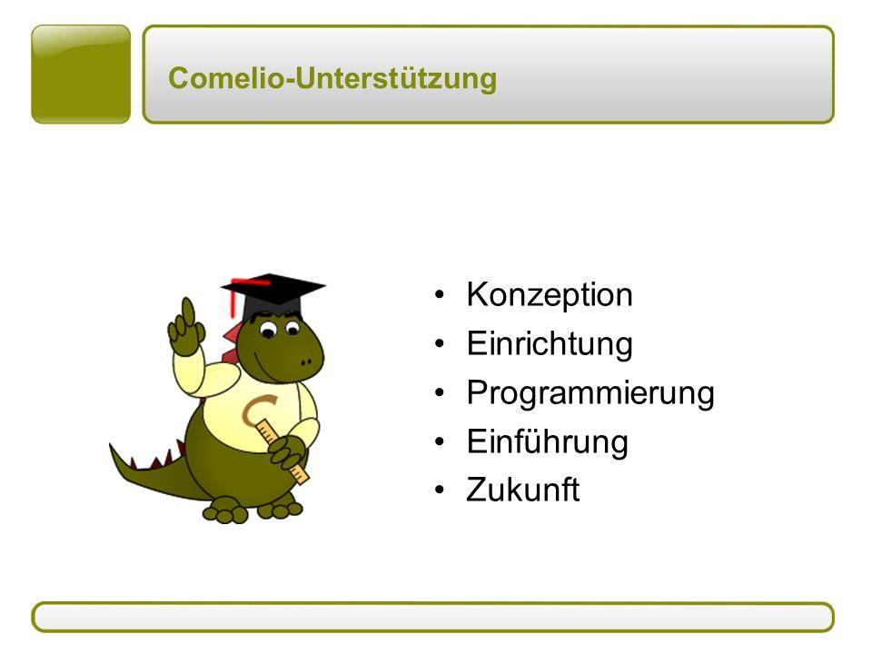 Comelio-Unterstützung Konzeption Einrichtung Programmierung Einführung Zukunft
