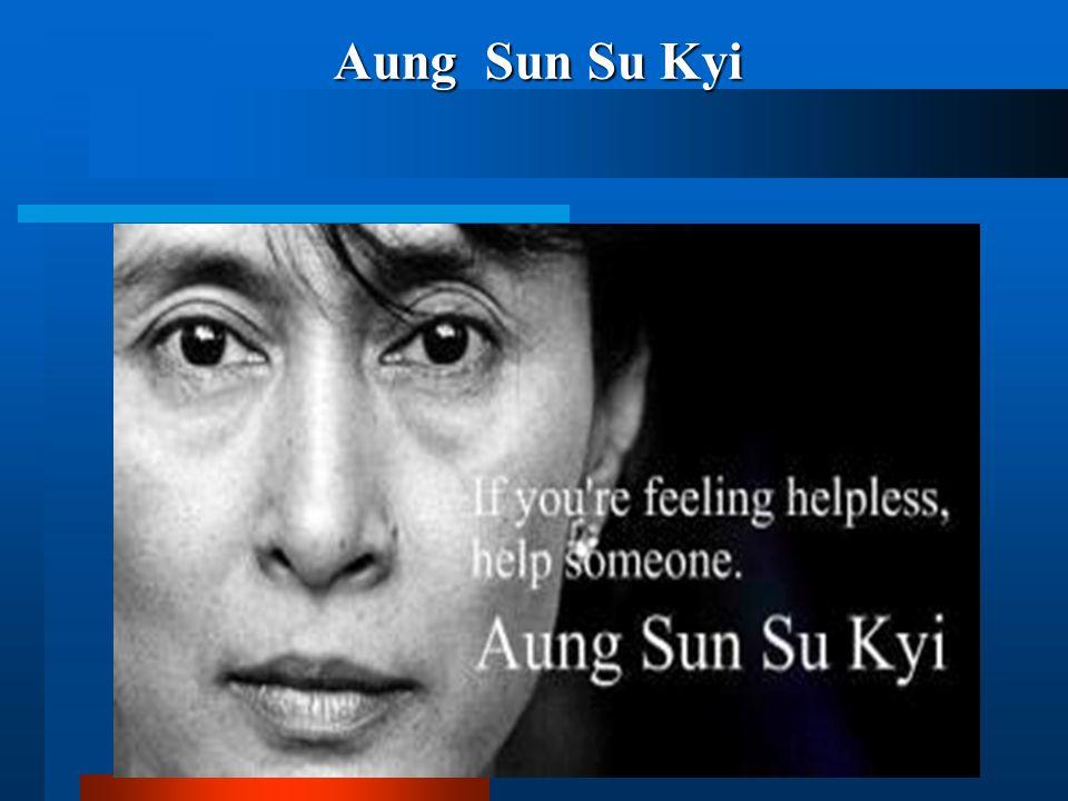 Aung Sun Su Kyi