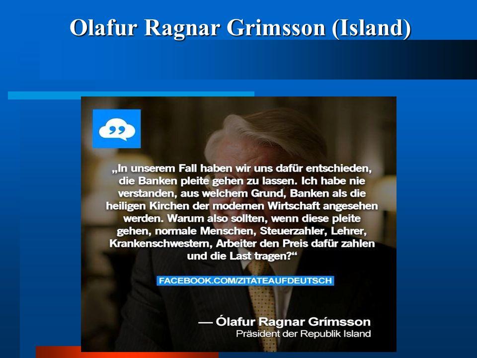 Olafur Ragnar Grimsson (Island)