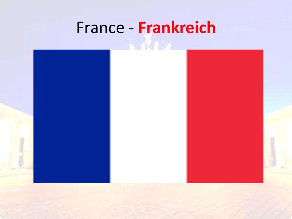 France - Frankreich