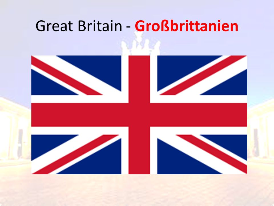 Great Britain - Großbrittanien