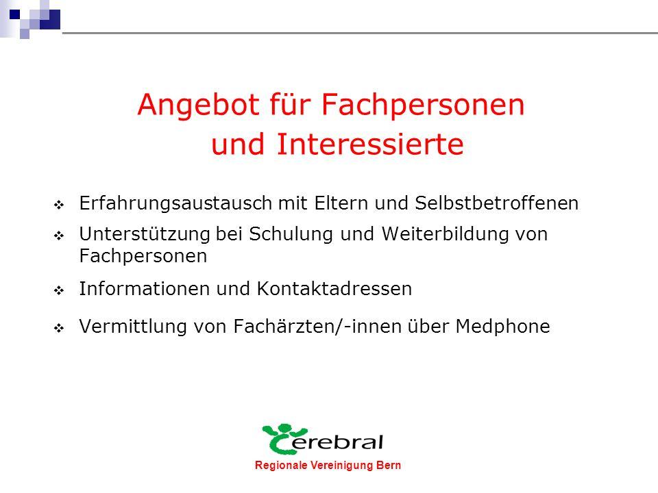 Regionale Vereinigung Bern Foto Vereinigung Cerebral Schweiz