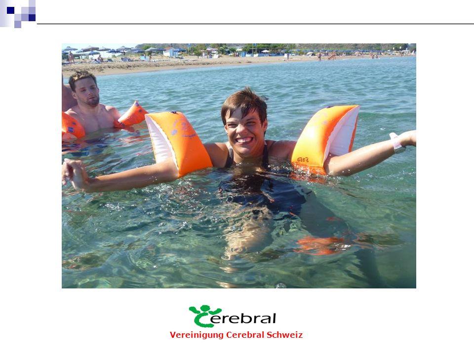 Ferien und Bildung  Organisieren und Vermitteln von Kursen, Wochenenden und Ferien  Ausbildung von Ferien-LeiterInnen und -HelferInnen  Kurse für Eltern-Betreuerinnen und -Betreuer  Tagung für Erwachsene mit cerebralen Beeinträchtigungen und Betroffenen Vereinigung Cerebral Schweiz