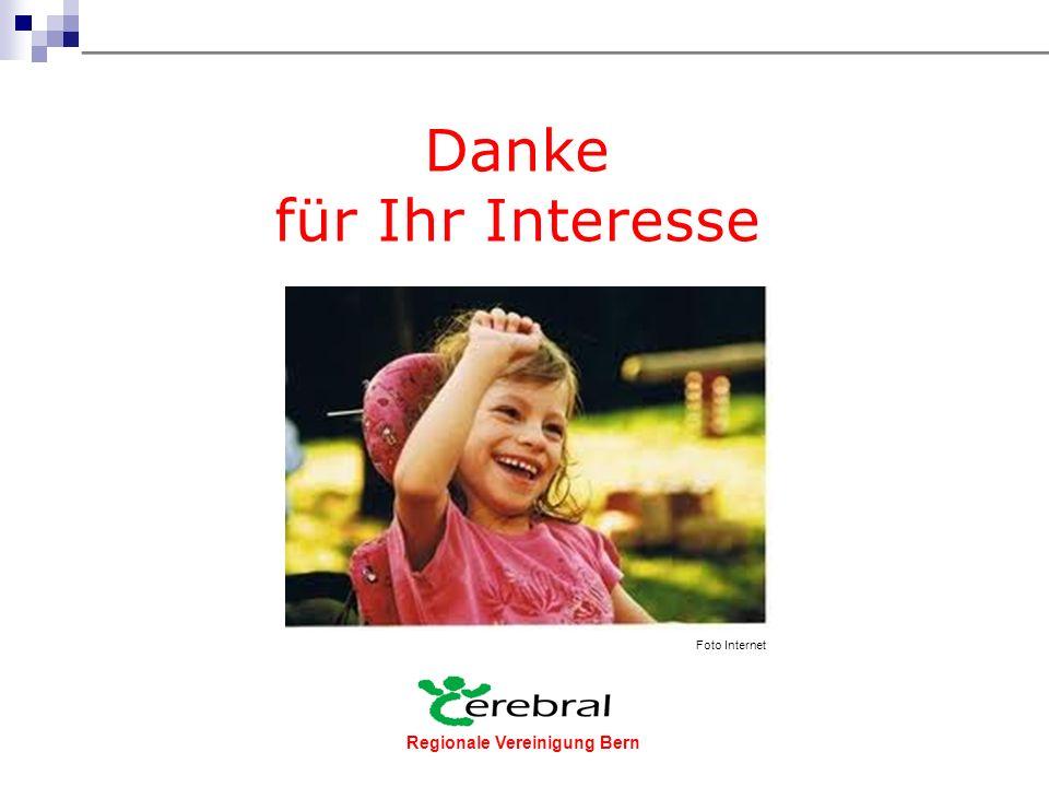 Regionale Vereinigung Bern  Heute an unserem Info-Stand  über Internet www.cerebral-bern.ch oder www.cerebral.ch