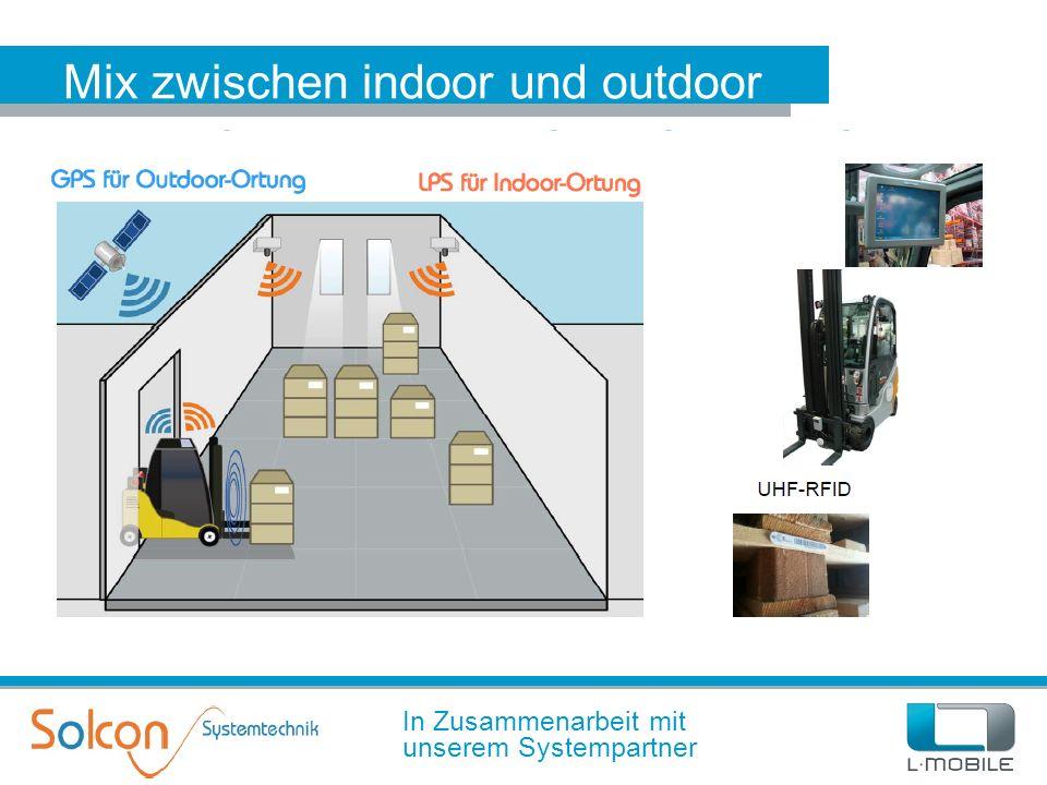 Mix zwischen indoor und outdoor In Zusammenarbeit mit unserem Systempartner