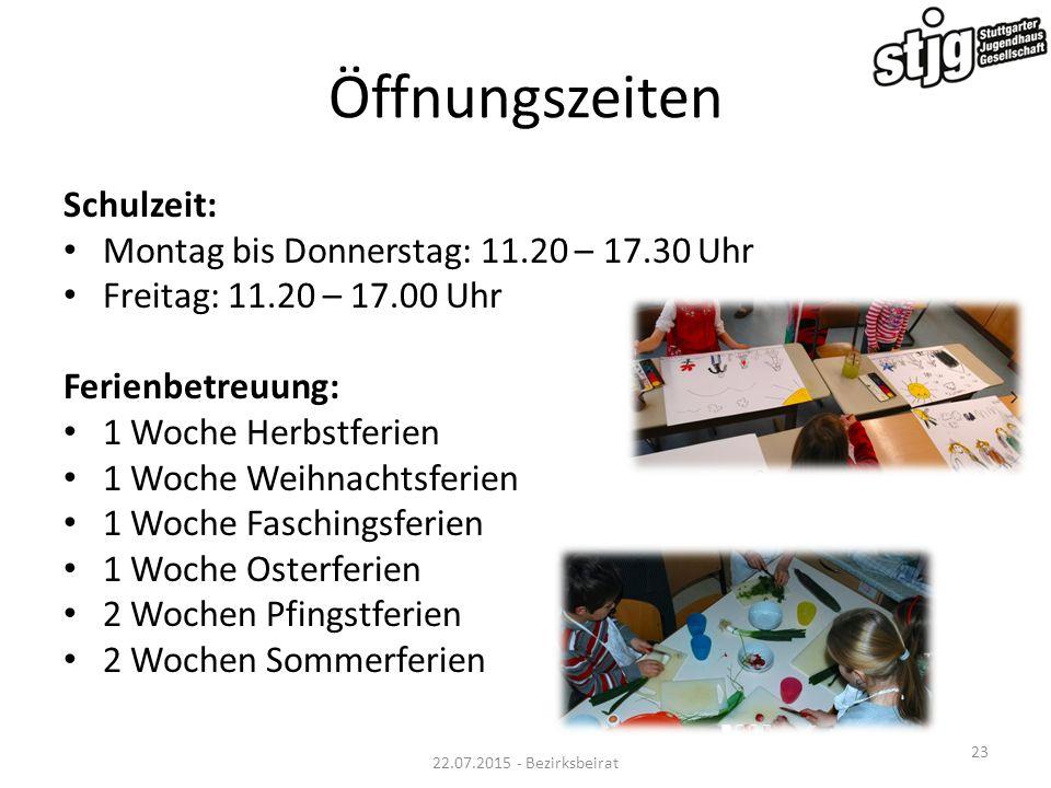 Kooperationen SV Sillenbuch HCC Flottweg Sillenbuch Jugendhaus Sillenbuch Jugendfarm Riedenberg Eiswelt Waldau Geplant: Musikschule und JES 22.07.2015 - Bezirksbeirat 24