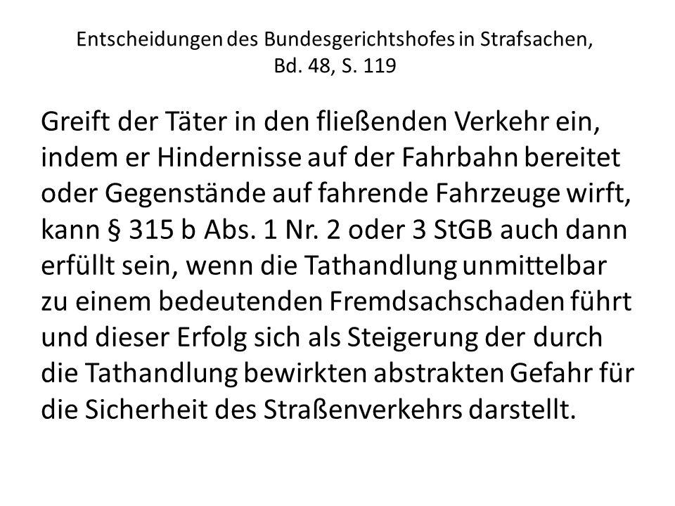 Entscheidungen des Bundesgerichtshofes in Strafsachen, Bd.