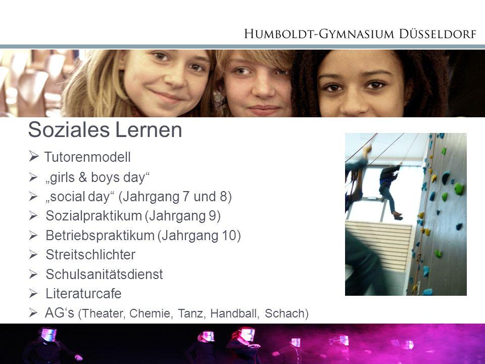 Anmeldung am Humboldt-Gymnasium TagDatumZeit Mo01.